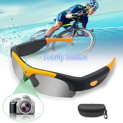 SM16A Hidden Glasses Camera HD 1080P Video Camcorder Sports Portable Camera DVR