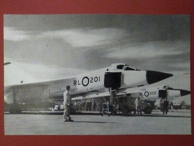 AVRO ARROW Postcard - LARGE (new) approx. 8.5 x 5.5 inches