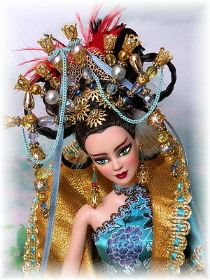 ** Gong Li ** Asian Princess OOAK Barbie Doll from Bethboul *