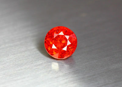 "2.82 Cts"" Fair Gems ""100 % Natural Top Red Spessartite Garnet_Sri Lanka"