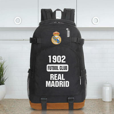Real Madrid Backpack Soccer Bag School College Kids Brand New Premium Quality