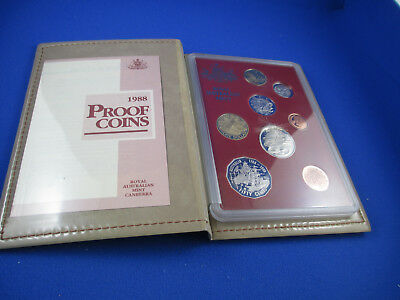 1988 Australian RAM PROOF COIN SET. Excellent set all round. Get in Quick!!