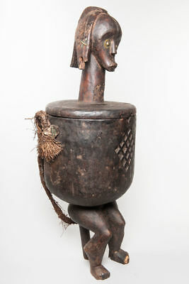 Fang, Reliquary Vessel, Central Gabon, African Tribal Art, African Statues