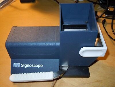 Safe Signoscope 9886 T1 watermark detector