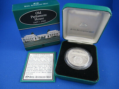 1997 $1 1Oz Silver Proof Coin - Old Parliament House - Superb!!!