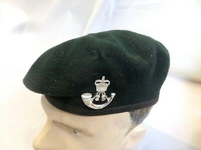 British Army Light Infantry Beret With Badge Size 58