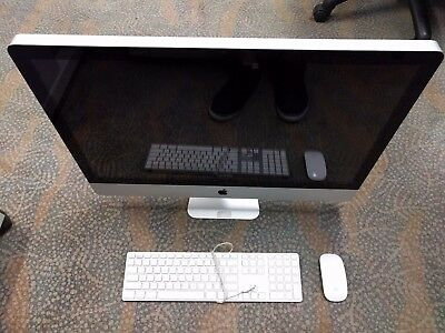 """Apple iMac """"Core i7"""" 3.4GHz 16GB 1TB 1GB VRAM 27-Inch Mouse/Keyboard Included"""