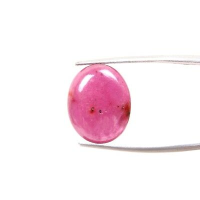 11 Carats Ring Size Ruby Glass Filled 16x13 MM Oval Cabochon Loose Gemstones