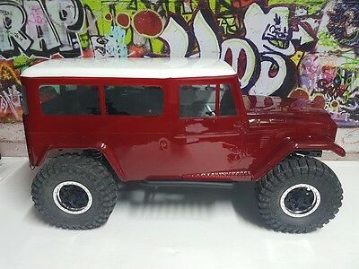 Body Worx 1/10 1970 Toyota FJ Land Cruiser Truck Crawler Body #BWX-CB040 PAINTED