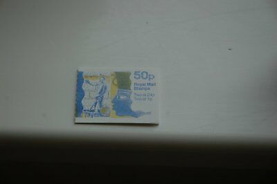 GB  1991 Archaeology Folded 50p Booklet FB60