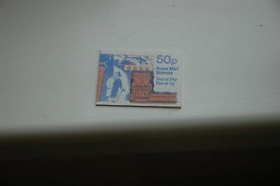GB  1991 Archaeology Folded 50p Booklet FB59