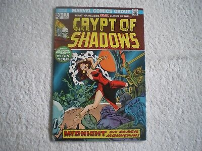 Marvel Comics CRYPT OF SHADOWS #1 (1973) in VERY FINE PLUS condition