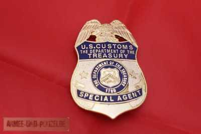 Historisches Special Agent Department of the Treasury US Badge