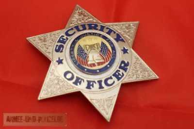 Historisches Security Officer Liberty and Justice Badge Abzeichen