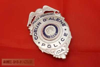 Historisches Police Specialist State of Idaho US Badge