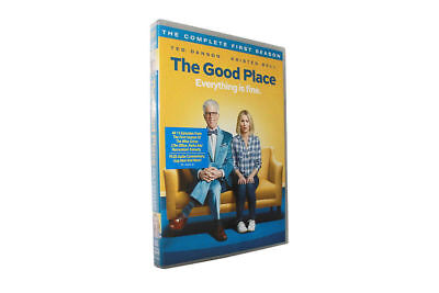The Good Place Season One (DVD, 2017, 2-Disc Set) Brand New Sealed