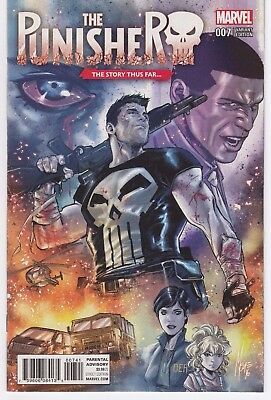 The Punisher #1 Marvel comics NM Variant Cover 2016