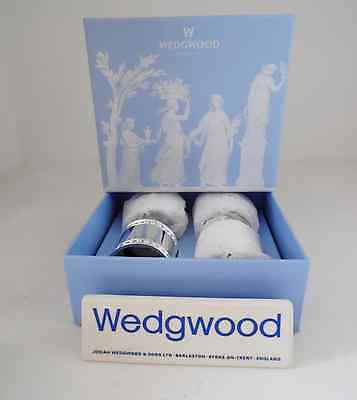 Wedgwood Wish Napkin Rings Set Of 4 New In Box