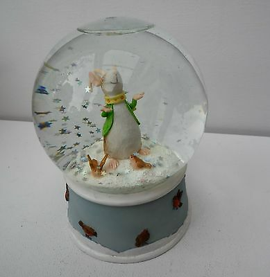 """Country Artists Snowglobe """"happy Icemouse""""  Ca06594"""