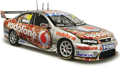2008 RED DUST livery Jamie Whincup TeamVodafone BF Falcon 1:18  Carlectables