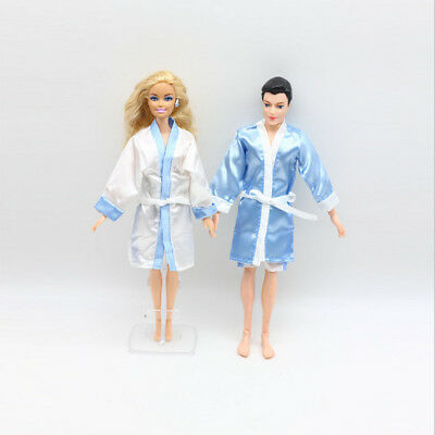 2 Set Doll Clothes Suit for Barbie Ken Kelly 1/6 BJD Dress Up Kids Role Play