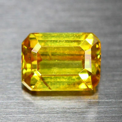 1.26 Cts-Breathtaking Fire - Sun Set Electric Yellow - 100 % Natural Sphalerite