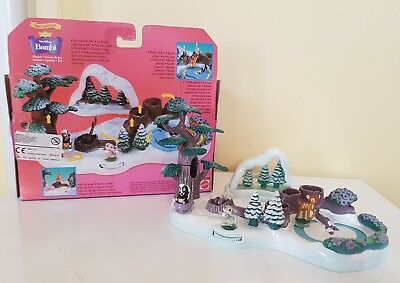 Disney Polly Pocket Rare Bambi Playset In Box 100% Complete