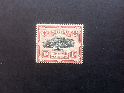 TONGA 1942-49 1d.Lopped Branch variety
