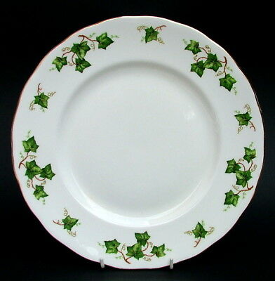1990's Colclough Ivy Leaf Pattern Large Size Dinner Plates 27cm Dia Look in VGC