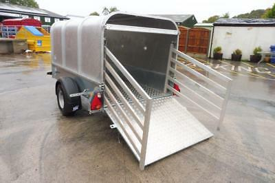 Shop Soiled .Ifor Williams P7e Livestock - unbraked sheep trailer / Quad trailer