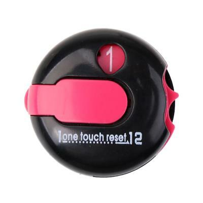 Black Pink Golf One Touch Reset Score Counter - Attach to Glove