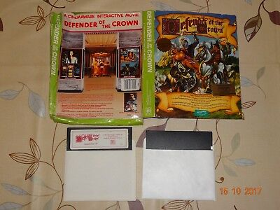COMMODORE C64 / C128 DISK - Defender of the Crown