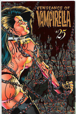 Vengeance Of Vampirella #25 Dynamic Forces Signed Quesada Conner & Palmiotti NM