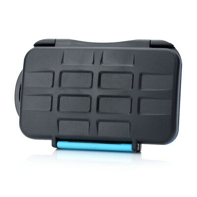 JJC MC-2 Professional Memory Card Case For CF and SD Flash Case Water-Resistant