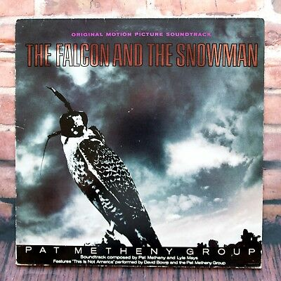 Pat Metheny Group – The Falcon And The Snowman David Bowie * FAL 1 * UK LP