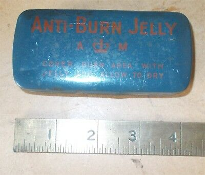 Original RAF Air Ministry Anti Burn Jelly tin