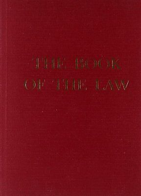 """Book of the Law,PB,""""Aiwass"""" - NEW"""
