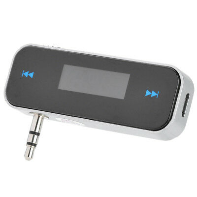 Fm Radio Transmitter Lcd Handsfree Car Wireless For Mobile Phone Iphone Ipod