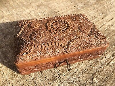 Anglo Indian Sandalwood Box
