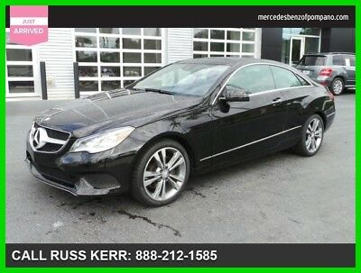 2014 Mercedes-Benz E-Class E 350 2014 E 350 Used Certified 3.5L V6 24V Automatic Rear Wheel Drive Coupe Premium