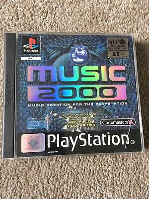 MUSIC 2000 PlayStation Game Original Game In Case