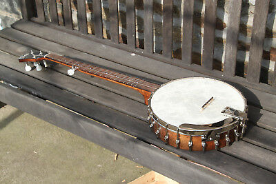 Recording King  5-String Open Back  Banjo Unused RK OT 25