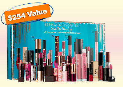 Sephora - Give Me Some More Lip 15pc Holiday Gift Set - Includes 1 Free Gift!