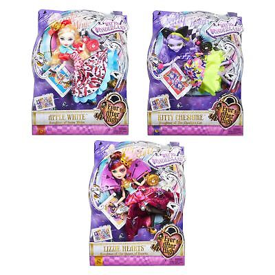 Ever After High Way Too Wonderland Fairytale Character Dolls With Accessories