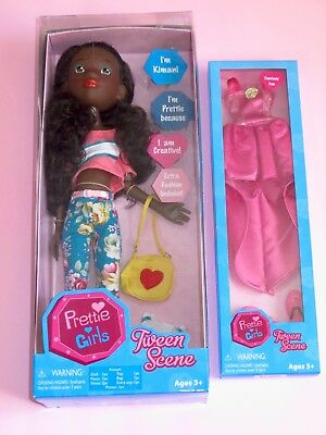 "Tonner - Tween Scene Prettie Girls 16"" Kimani Fashion Play Doll w/ Outfit - NRFB"