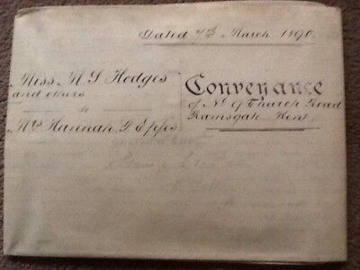 Conveyance, 1890, Indenture, ( Two Parts ),