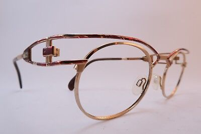 Vintage Cazal eyeglasses frames metal size 52-21 made in Germany