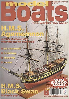 Model Boat Magazine September 2001