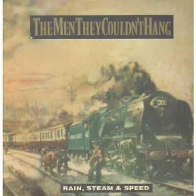 """MEN THEY COULDN'T HANG Rain,steam And Speed 12"""" VINYL 3 Track B/w Shirt Of Blu"""
