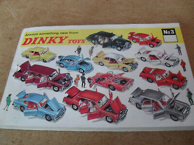 DINKY TOY CATALOGUE 1967 INTERNATIONAL 3rd EDITION MINT CONDITION